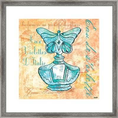 Eau De Toilette Framed Print by Debbie DeWitt