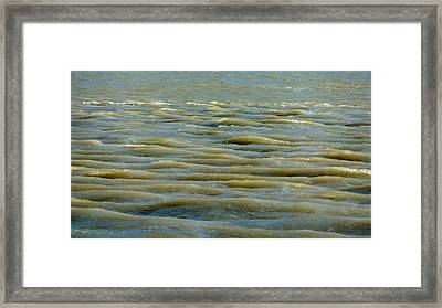 Framed Print featuring the photograph Eaux Vertes by Marc Philippe Joly