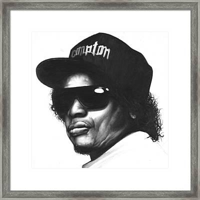 Eazy-e Framed Print by Lee Appleby