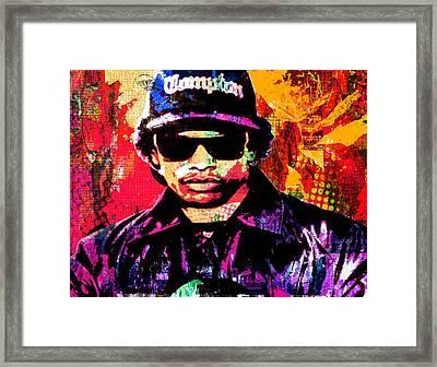 Eazy E Framed Print by Otis Porritt