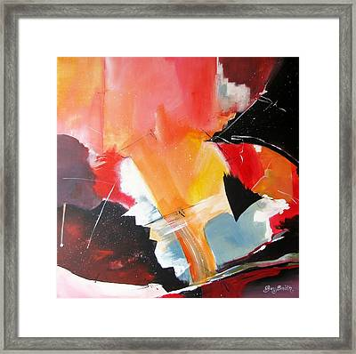 Framed Print featuring the painting Ebb And Flow by Gary Smith