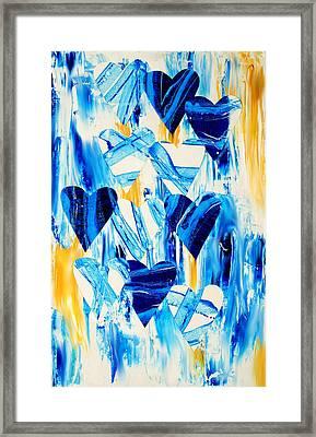Ebb And Flow Framed Print