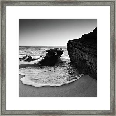 Ebb And Flow Framed Print by Ryan Weddle