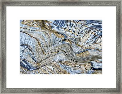 Ebb N Flow Framed Print by Tim Gainey