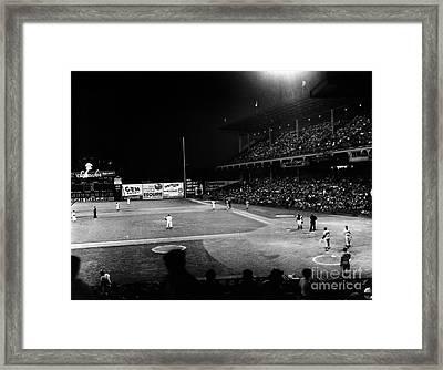 Ebbets Field, 1957 Framed Print by Granger