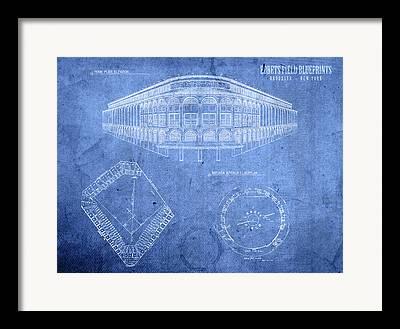 Ebbets Field Framed Prints