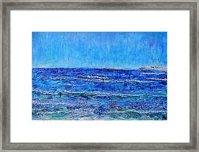 Ebbing Tide Framed Print