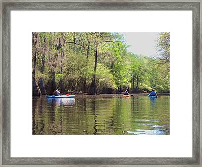Ebenezer Creek Framed Print by Vince Green