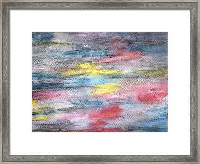 Ebony Rainbow Framed Print by Mary Zimmerman