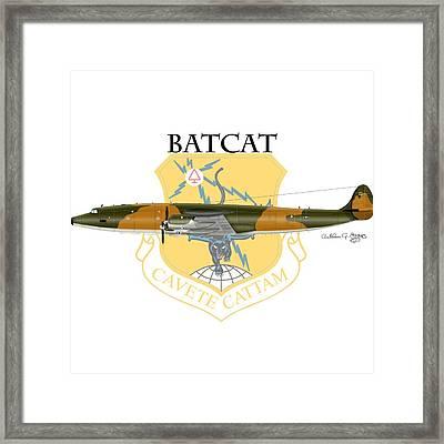 Ec-121r Batcatcavete Framed Print