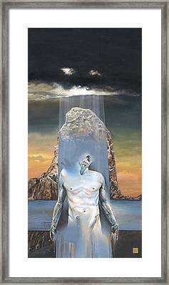 Ecce Homo - Jesus Christ - Illustration To The Book Of  Nietzsche - Daniel Yakubovich Framed Print by Daniel Yakubovich