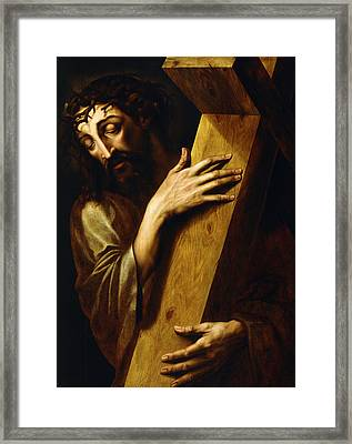Ecce Homo Framed Print by Michiel Coxie