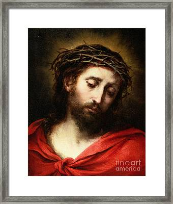 Ecce Homo, Or Suffering Christ Framed Print by Bartolome Esteban Murillo