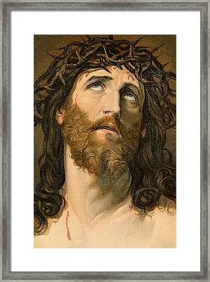 Ecce Homo Framed Print by William Dickes