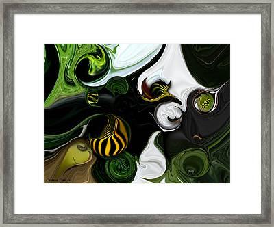 Framed Print featuring the digital art Echo And Feeling by Carmen Fine Art