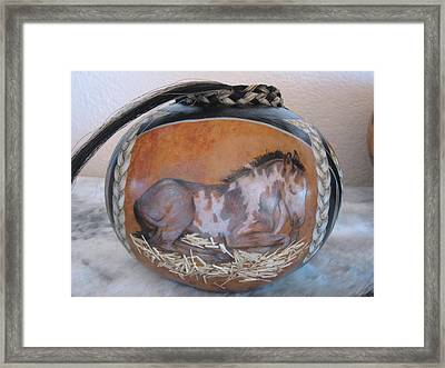 Echo Framed Print by Barbara Prestridge