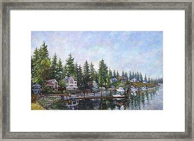 Echo Bay Three Framed Print