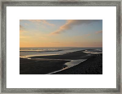 Framed Print featuring the photograph Echo by Harry Robertson