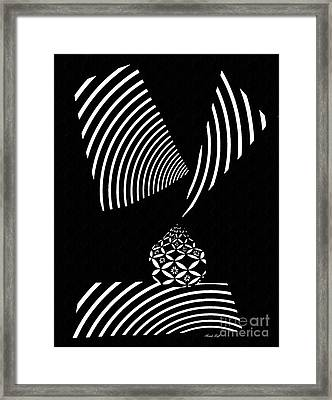 Echo In Time Framed Print by Sarah Loft