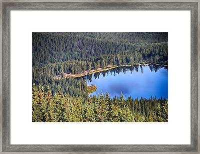 Echo Lake 7 Framed Print by Angelina Vick