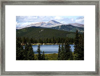 Echo Lake Colorado Framed Print
