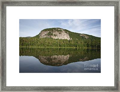 Echo Lake State Park - North Conway  New Hampshire Usa Framed Print by Erin Paul Donovan