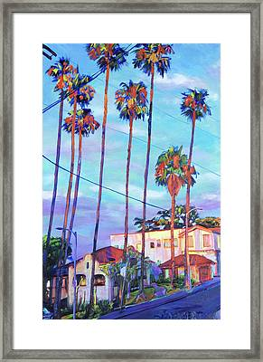 Echo Park Sentinels Framed Print