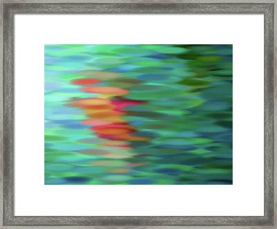 Echo Framed Print by Tom Druin