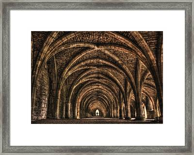 Echoes From Ancient Dreams Framed Print by Evelina Kremsdorf