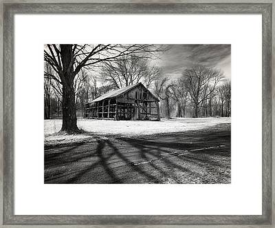Echoes From The Past Framed Print by Luke Moore
