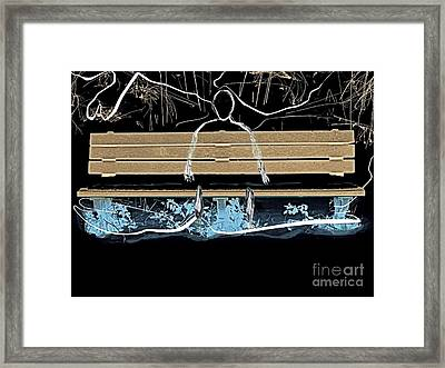 Echoes In The Night Framed Print