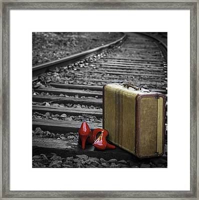 Echoes Of A Past Life Framed Print