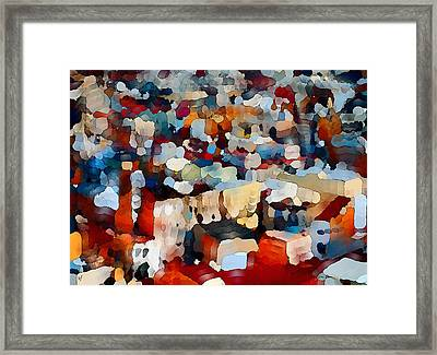 Echoes Of Civilization  Framed Print