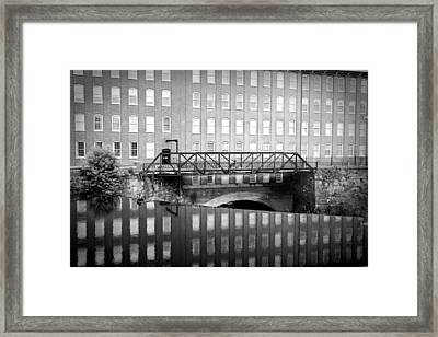 Echoes Of Mills Past Framed Print
