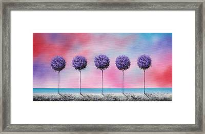 Echoes Of Summer Framed Print by Rachel Bingaman