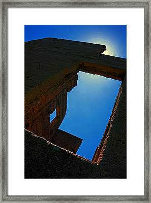 Echoes Of The Past Framed Print by Mike Flynn