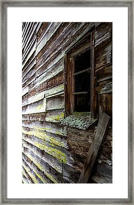 Echoes Of Time Framed Print