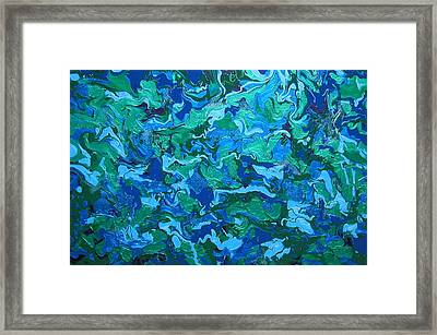 Echoes The Silence Framed Print by Gregory Young