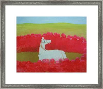 Echoing Steppe No.3 Framed Print