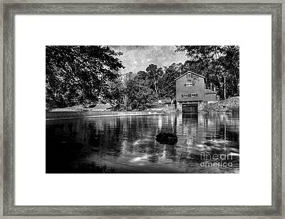 Echos Of The Past Keep Flowing Framed Print by Michael Eingle