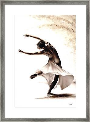 Eclectic Dancer Framed Print