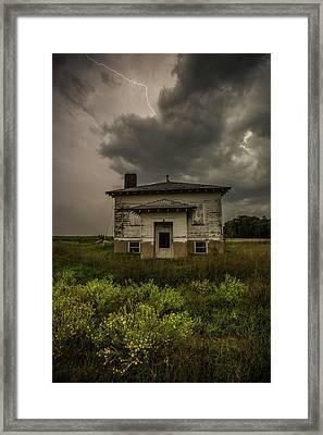 Eclipse Apocalypse Framed Print