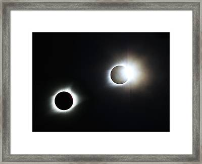 Totality Awesome Framed Print