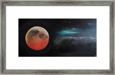 Eclipse De Lune Framed Print