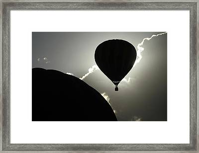 Eclipse Framed Print by Marie Leslie