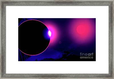 Eclipse Of 2017 Framed Print