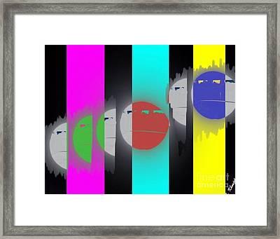 Eclipse Of Love Framed Print