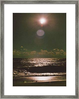 Eclipse Of The Soul Framed Print