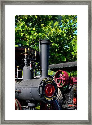 Eclipse Tractor - Front Framed Print by Paul W Faust - Impressions of Light