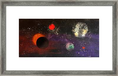 Eclipse Framed Print by William Renzulli